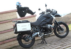BMW R 1200 GS Triple Black: Todo al negro